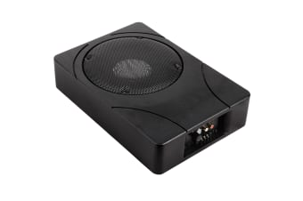 Car Sub Woofer Amplifier Speakers with Inbuilt Amp Cables