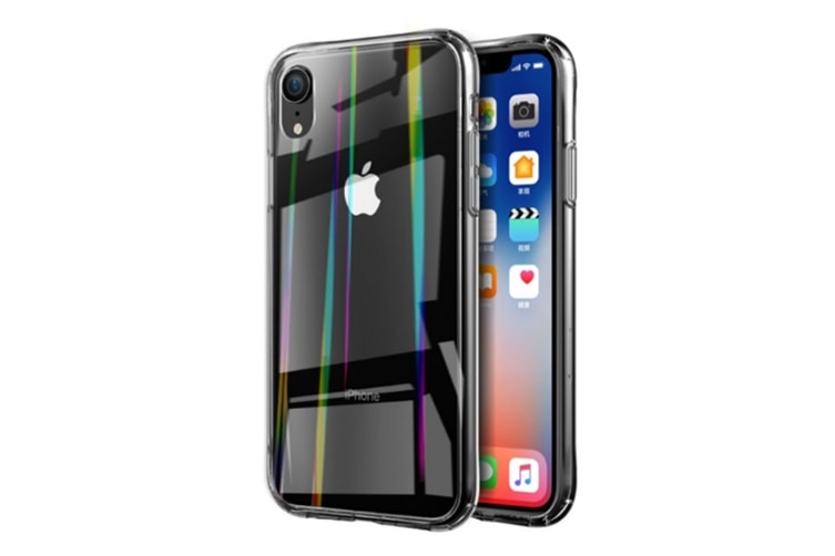Clear Tempered Glass Back Cover,Soft Tpu Edge Protection Cases For Iphone Xs Max&Iphone Xr Iphone X/Xs