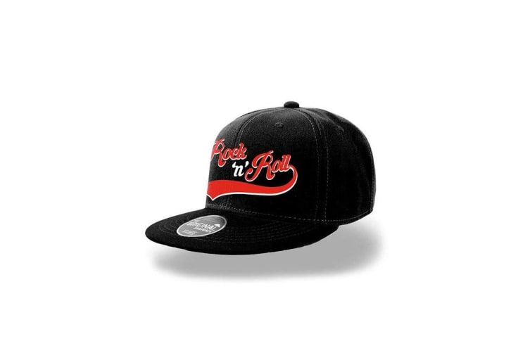 CID Originals Rock And Roll Snapback Cap (Black) (One size)