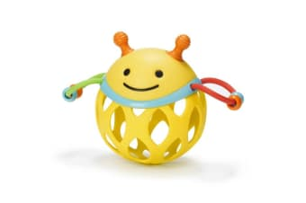 Skip Hop Explore & More Collection Roll-around Rattles - Bee