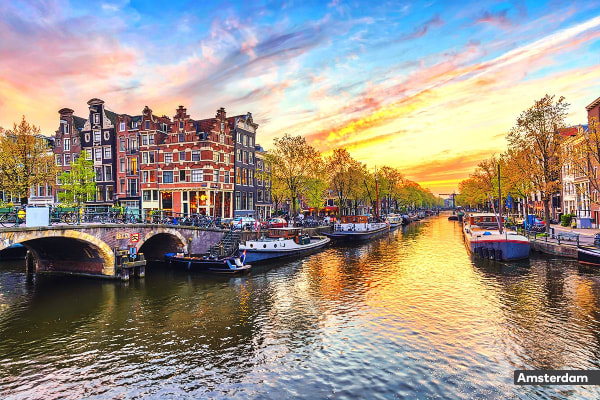 EUROPE: 15 Day Classic Europe Tour Including Flights for Two
