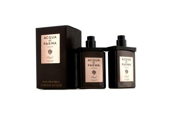 Acqua Di Parma Acqua di Parma Colonia Oud Eau De Cologne Concentree Travel Spray Refills (2x30ml/1oz)