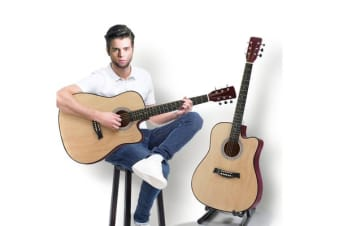 """41""""Acoustic Guitar for Wooden Nature wood"""