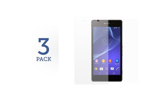 3 Pack Screen Protector for Sony Xperia C3