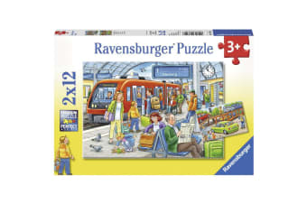 Ravensburger Please get In Puzzle - 2 x 12 Piece