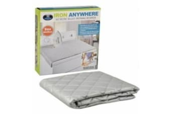Ironing Mat Iron Anywhere for Dryer Washer Tops, Countertops, no need Iron Board