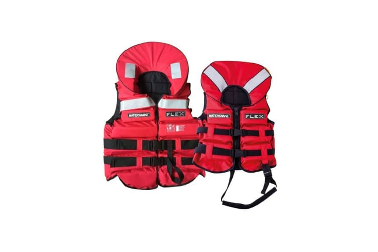 Watersnake Flex Adult or Child Life Jacket - Level 150 PFD - Meets AS4758.1 [Size: Medium Child]