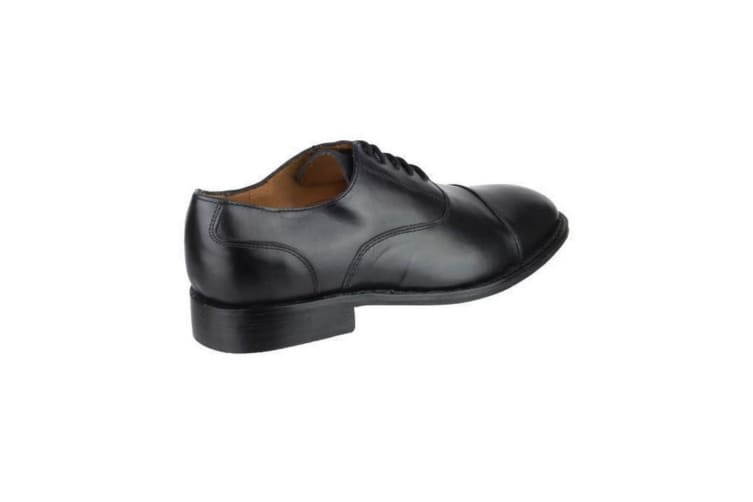 Amblers James Leather Soled Shoe / Mens Shoes (Black) (12 UK)