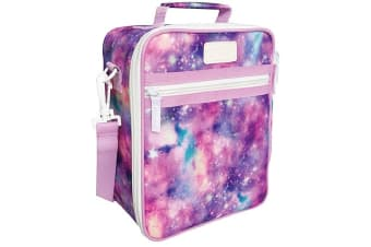 NEW Sachi Insulated Junior Lunch Tote Galaxy Travel Bags Carry Box Cooler