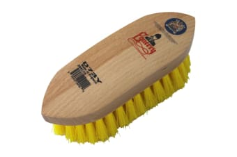 Equerry Dandy Brush (Yellow)