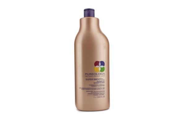 Pureology Super Smooth Shampoo (For Unmanageable Colour-Treated Hair) (1000ml/33.8oz)