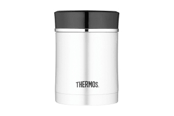 Thermos Sipp 470ml Vacuum Insulated Food Jar (Stainless Steel/Black)