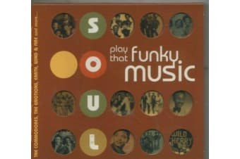 SOUL PLAY THAT FUNKY MUSIC BRAND NEW SEALED MUSIC ALBUM CD - AU STOCK