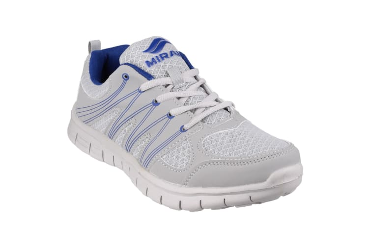 Mirak Milos Lace Mens Sports Shoe / Mens Trainers (Grey/Navy) (9 UK)
