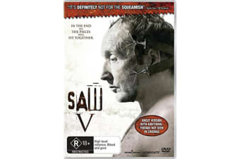 Saw V DVD Region 4