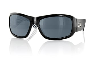 Carve Checkmate Black Signature Polarized Mens Sunglasses