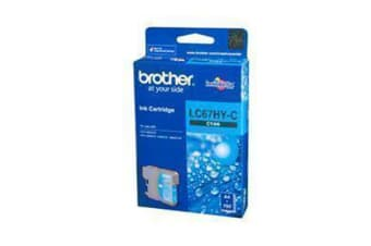 BROTHER Ink Cartridge LC67HYC High capacity Cyan