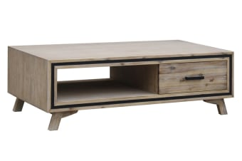 Seashore Coffee Table with 2 Drawers