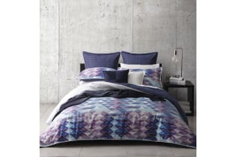 Atari Blue Quilt Cover Set KING by Ltd