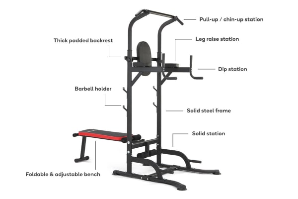 Fortis Home Gym Multi-Function Power Tower