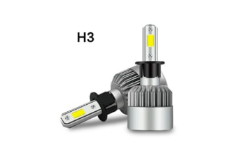 Led Headlight Bulb Car Fog Driving Light High Low Beam All-In-One Waterproof