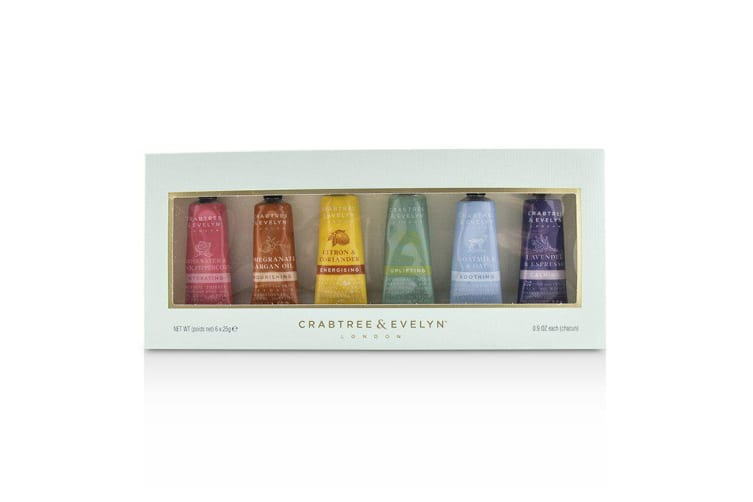 Crabtree & Evelyn Limited Edition Hand Therapy Gift Set 6x25ml