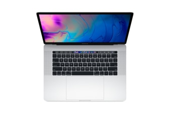 "Apple 15"" MacBook Pro with Touch Bar (2.6Ghz i7, 16GB RAM, 512GB SSD, Silver) - MR972LL/A"