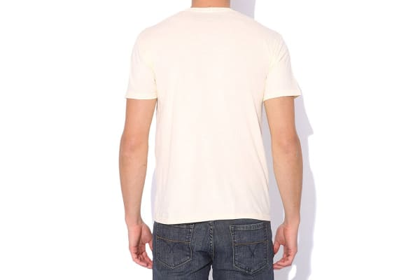Elwood Men's Old West Tee (Natural, Small)