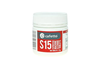 100 Cafetto S15 Espresso Machine Cleaning Tablets
