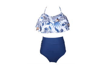 High Waisted Bathing Suit Mommy And Daughter Swimwear Bikini Sets - 6 128