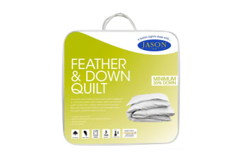 Jason Duck Feather & Down Quilt (Single)