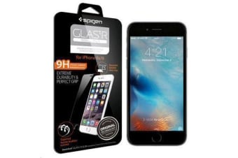 "Spigen iPhone 6s/6 (4.7"") Premium Tempered Glass Screen Protector-3D Touch Compatible"