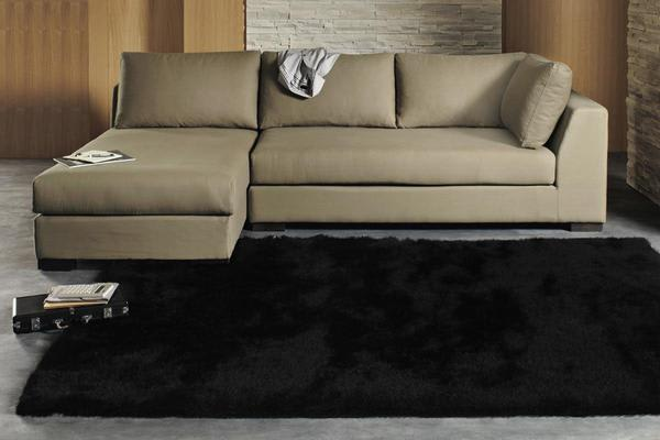 Twilight Shag Rug - Black 145x75cm