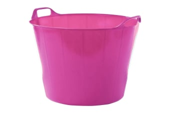 Easi Trug For Horses (Cerise Pink)