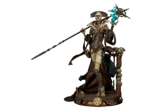 """Court of the Dead Xiall Osteomancers Vision 10"""" Statue"""