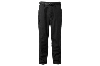Craghoppers Outdoor Classic Mens Kiwi Stain Resistant Trousers (Black) (28R)