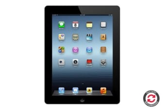 Apple iPad 3 Refurbished (32GB, Wi-Fi, Black) - AB Grade