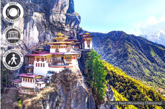 NEPAL & BHUTAN: 12 Day Nepal & Bhutan Tour for One or Two