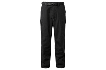 Craghoppers Outdoor Classic Mens Kiwi Stain Resistant Trousers (Black Pepper)