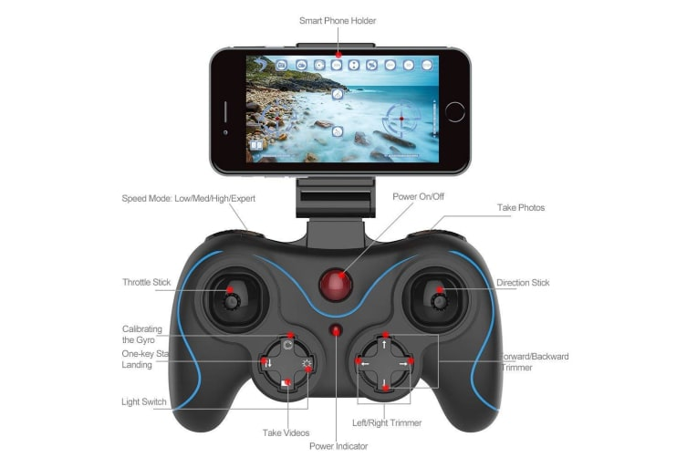 Holy Stone HS160 Shadow FPV RC Drone HD WiFi Camera Live Video 2.4GHz Quadcopter
