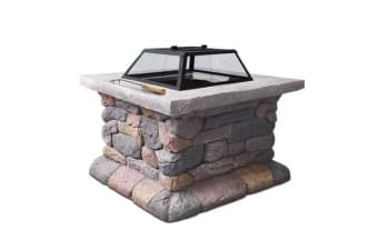 Outdoor Sone Fire Pit Table