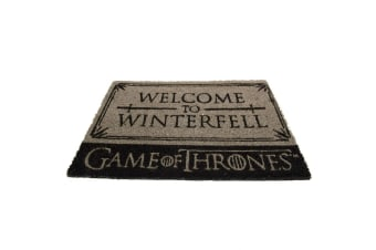 Game Of Thrones Stark Doormat (Grey) (One Size)