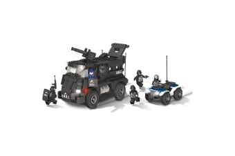 Action Town 500 Piece S.W.A.T. Team Construction Set