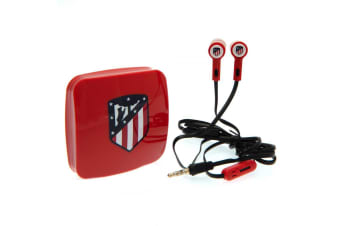 Atletico Madrid FC Earphones (Red/Black)