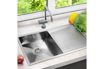 Cefito Kitchen Sink Stainless Steel Laundry Handmade Top/Udermount 960x450mm