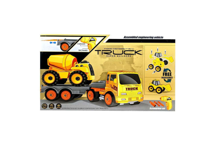 Build Your Own Truck Hauler with Dump Truck