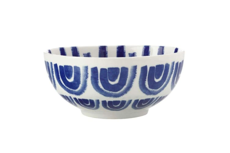 12PK Maxwell & Williams Suomi 18cm Kitchen Rice Soup Salad Porcelain Bowl Blue