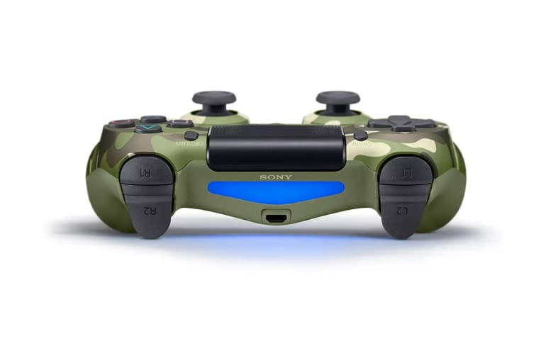PlayStation Dualshock 4 Controller (Green Camouflage)