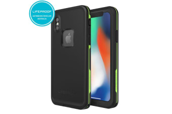 Gen Lifeproof Fre Black Tough Drop Case Cover Waterproof Shockproof for iPhone X