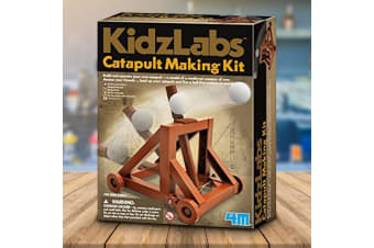 Make Your Own Wooden Catapult Kit | KidzLabz